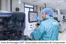 Linha de Montagem SMT: Posicionadora Automática de Componentes